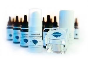 Dermatologische Kosmetik für eine gesunde Haut.