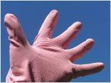 Handschuhe sind der beste Schutz im Haushalt.