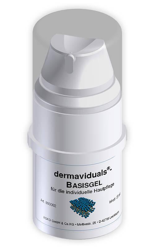 Das DMS Basisgel von Dermaviduals® – die fettfreie Basis für Ihren Wirkstoffcocktail.