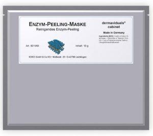 Enzym-Peeling-Maske von dermaviduals für ein sanftes Peeling.