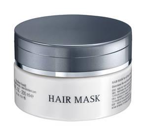 Maske für die Pflege des Haares.