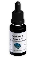 Hamamelis-Extrakt bei rissiger und empfindlicher Haut.