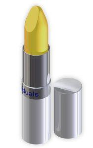 Lippenpflegestift bei spröden Lippen.
