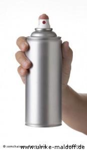 Haarentfernung aus der Spraydose